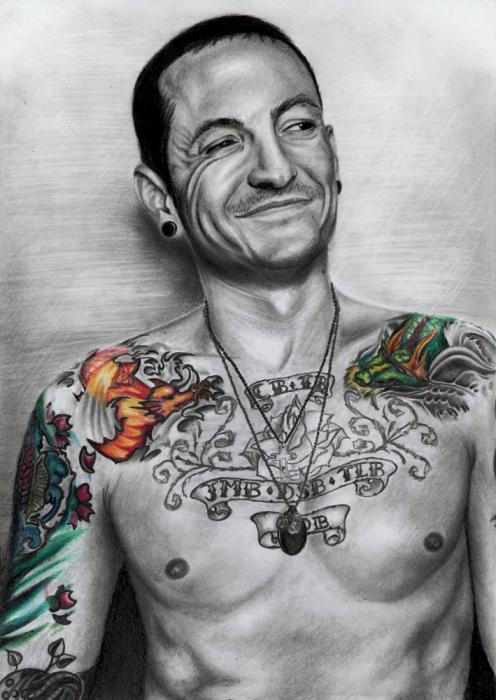 Chester Bennington by Hillcza